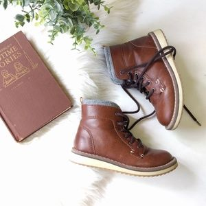 {Old Navy} brown high-top shoes